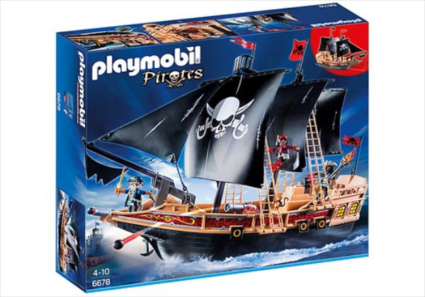 Playmobil Pirates Pirate Raiders Ship 6678 konstruktors
