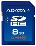 A-Data 8GB SDHC card (class 4), retail atmiņas karte
