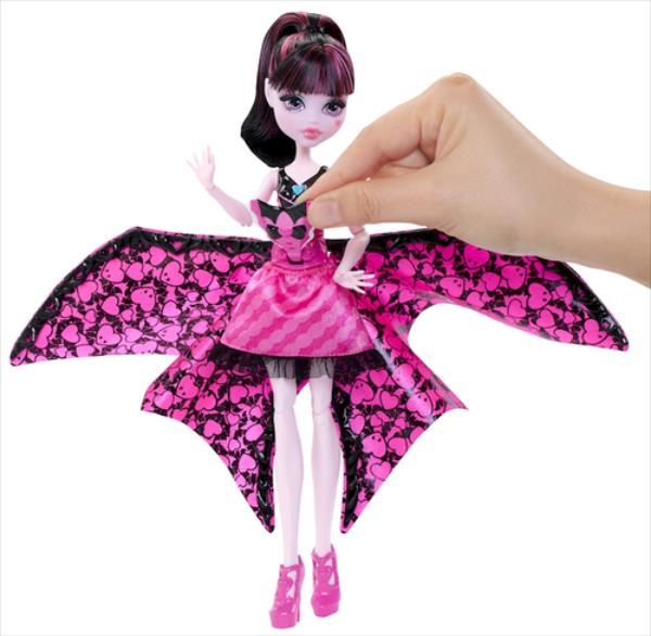 Mattel Monster High Fledermaus Draculaura (DNX65) bērnu rotaļlieta