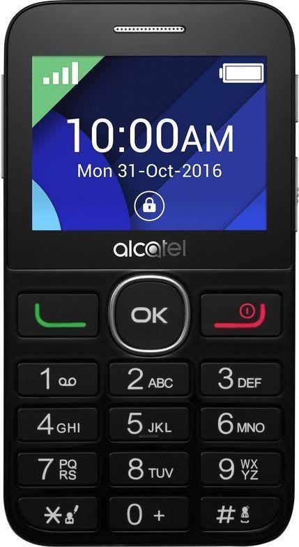 Alcatel 2008G black Mobilais Telefons