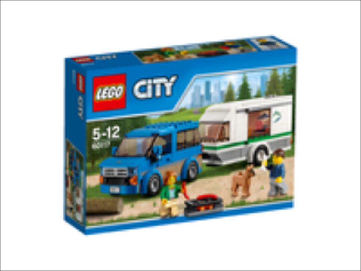 LEGO City Van & Caravan  60117 LEGO konstruktors