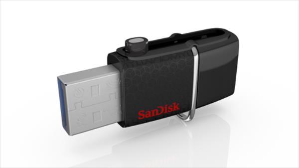 Sandisk Ultra DUAL 16GB USB 3.0, Read: up to 130MB/s USB Flash atmiņa