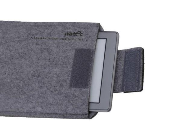 Natec KINDLEY case NATEC SHEEP 6'' Grey-Black Planšetes aksesuāri