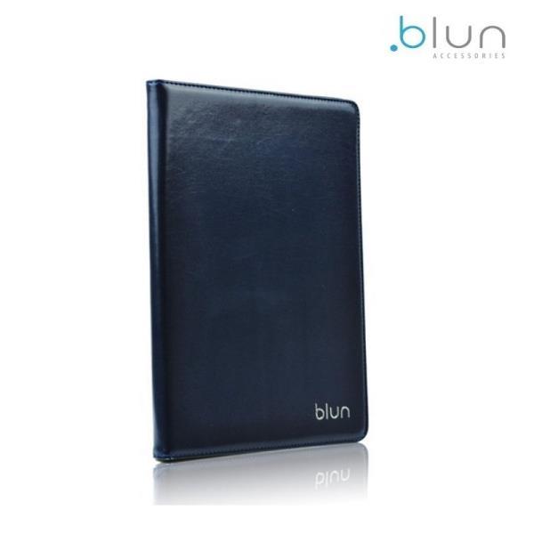 Blun UNT Universāls Eko ādas sāniski atverams maks ar stendu Tablet PC līdz 7