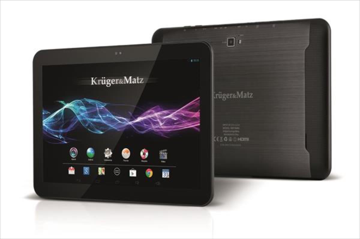 Kruger Matz 10.1''/QuadCore A17/2GB RAM/8GB/3G Planšetdators