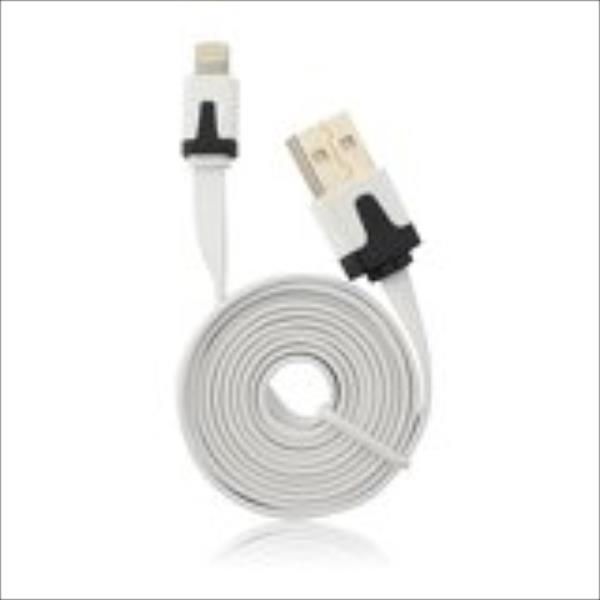 Apple Iphone 5/5C/5S/6/6Plus Connectivity Cable white AKS_DK5Swhite aksesuārs
