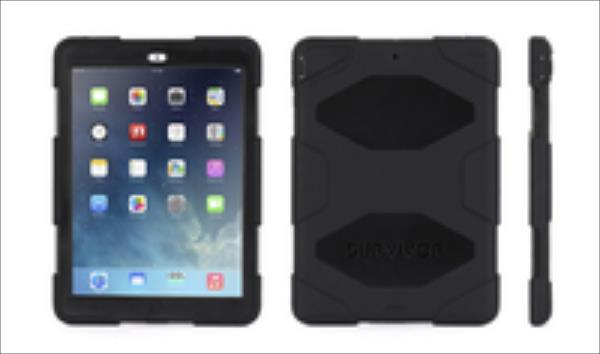 Griffin GB36307-2 Survivor All-Terrain Ipad Air Black aksesuārs