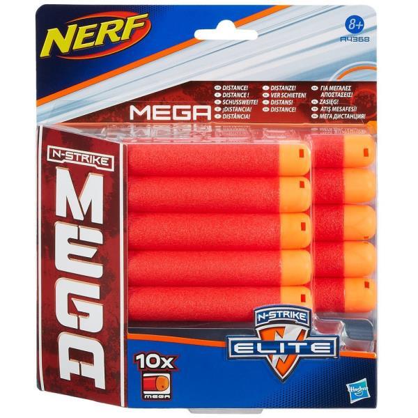 Hasbro Nerf N-Strike Elite Mega Darts 10 pc Rotaļu ieroči