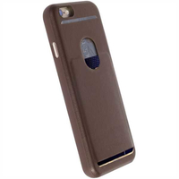 Krusell Timra WalletCover iPhone 7 Plus Brown maciņš, apvalks mobilajam telefonam