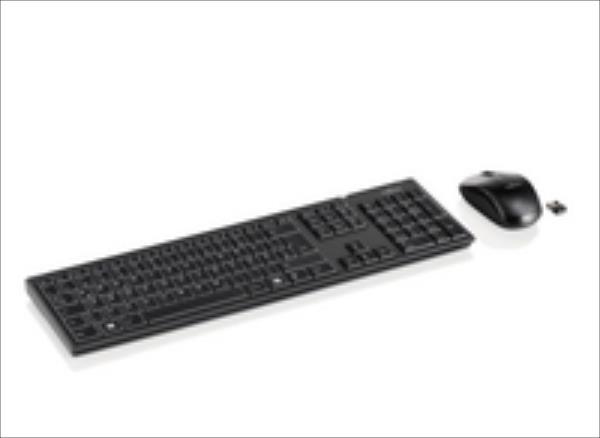 FUJITSU Wireless KB Mouse Set LX390 (US) klaviatūra