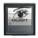 GOSH Smokey Eyes Palette 01 Black acu ēnas ēnas