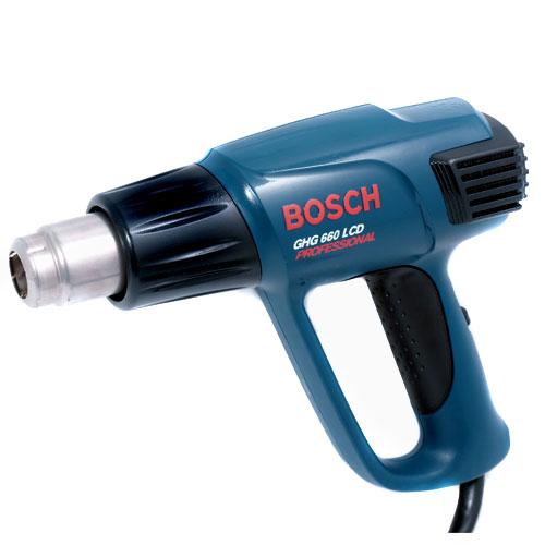 Bosch GHG 660 LCD Set celtniecības fēns