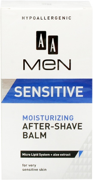 AA Cosmetics Men Sensitive Moisturizing after-shave balsam 100ml Vīriešu Smaržas
