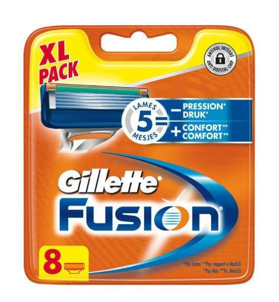 Gillette Fusion Proglide Manual 8 (Razor Blade) Vīriešu skuveklis