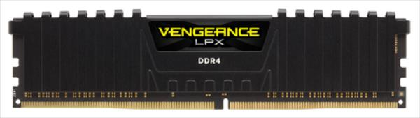 Corsair DDR4 Vengeance LPX Black 8GB (2x4GB) 3000MHz CL15 1.2V, PC424000 operatīvā atmiņa