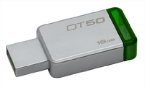 Kingston 16GB USB 3.0 DataTraveler 50 (Metal/Purple) USB Flash atmiņa