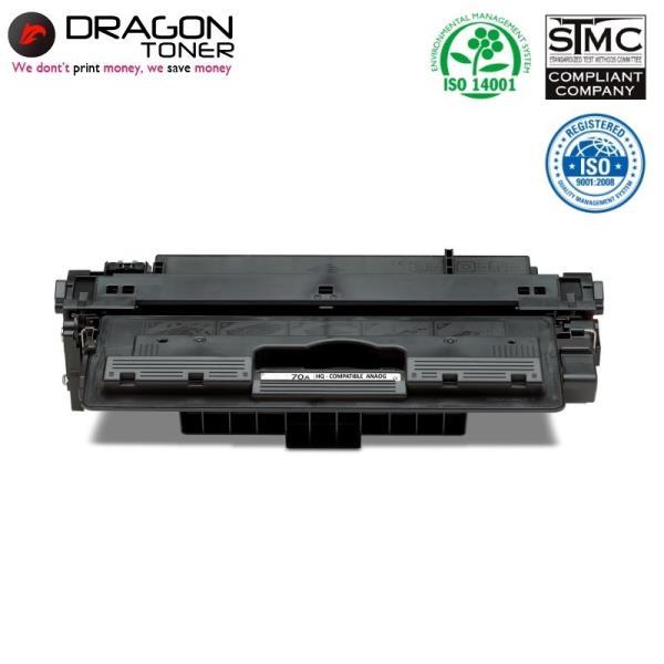 Dragon HP 70A Q7570A Lāzerdrukas kasete priekš M5025 M5035 M5035x M5035x 15K Lapas HQ Premium Analogs aksesuārs mobilajiem telefoniem
