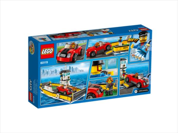 LEGO Ferry  60119 LEGO konstruktors