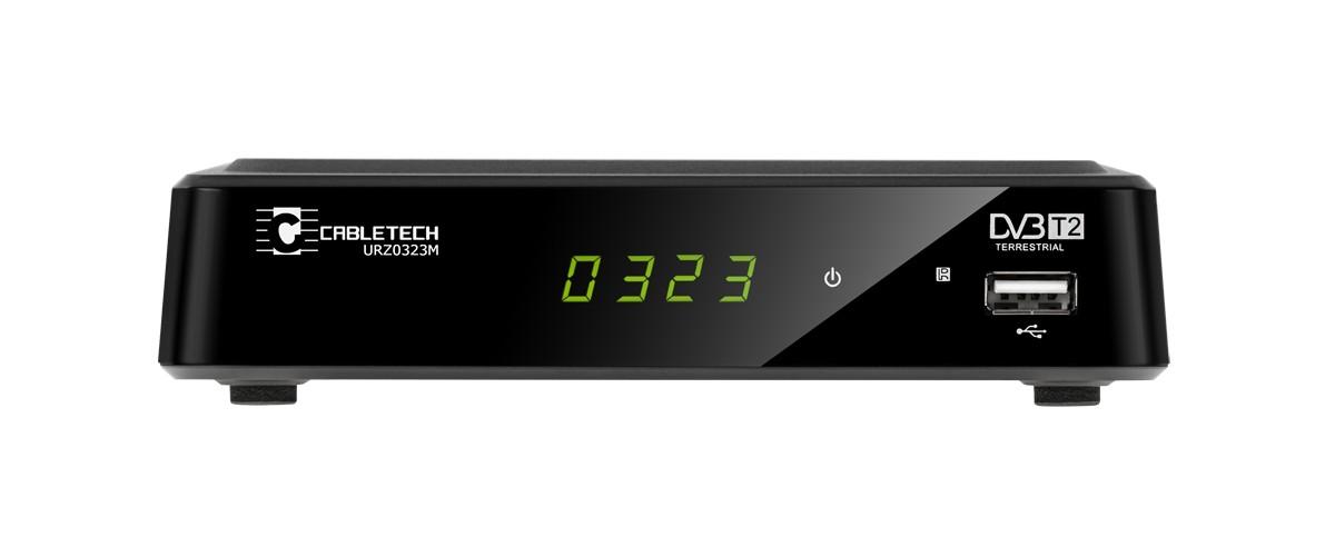 Cabletech DECODER DVB T 2 HD USB HDMI SCART uztvērējs