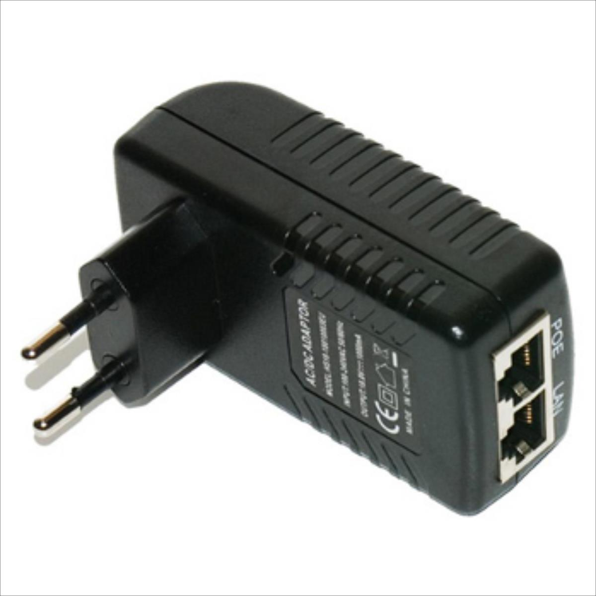 MikroTik Power Adapter with PoE 12V 1A tīkla iekārta