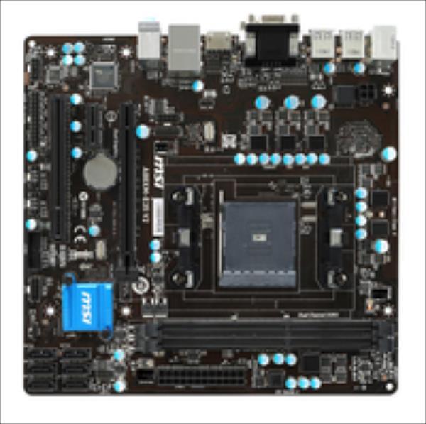 MB MSI A88XM-E35 V2   (A88X,FM2+,mATX,DDR3,VGA,AMD) pamatplate, mātesplate
