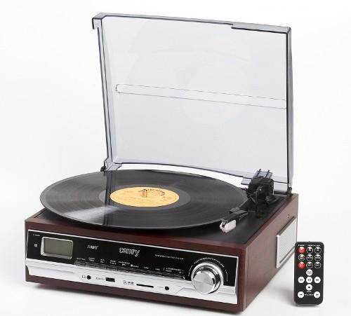 Camry MP3/USB/SD/recording radio, radiopulksteņi