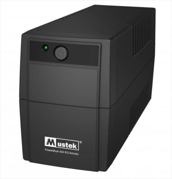 PowerMust 424EG (450VA), Line Int., Schuko nepārtrauktas barošanas avots UPS