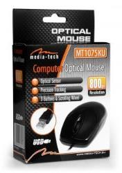 Media-Tech OPTICAL MOUSE - Standard optical mouse Datora pele