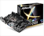 ASROCK B85M-DGS LGA1150 Intel B85 mATX pamatplate, mātesplate