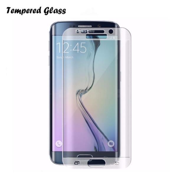 BS Tempered Glass 9H Extra Shock Aizsargplēve-stikls Samsung G935F Galaxy S7 Edge Full Face Caurspīdīgs (EU Blister) aksesuārs mobilajiem telefoniem