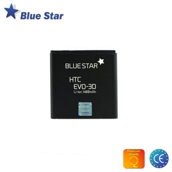 BlueStar Akumulators HTC Evo 3D Sensation XE/XL Li-Ion 1400 mAh Analogs BA S590 aksesuārs mobilajiem telefoniem
