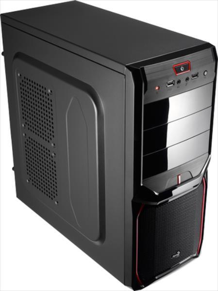 Aerocool V3X Devil Red Edition Midi-Tower EN57455 Datora korpuss