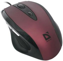 DEFENDER Wired mouse Opera MB-880 red Datora pele