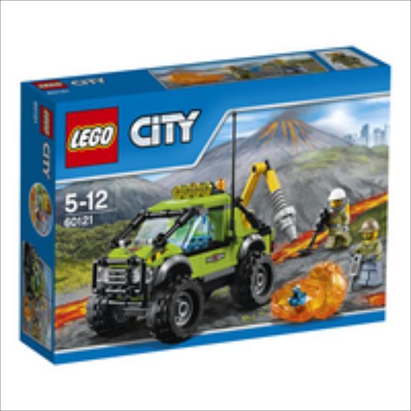 LEGO Volcano Exploration Truck V29  60121 LEGO konstruktors