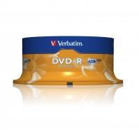 DVD-R Verbatim 25szt matricas