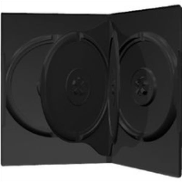 DVD Leerbox MediaRange 4er DVD Box 50 Stuck