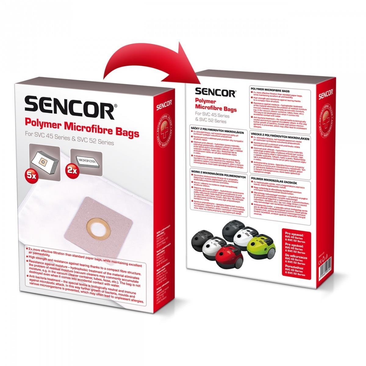 Sencor SVC45 mikrofibre aksesuārs putekļsūcējam