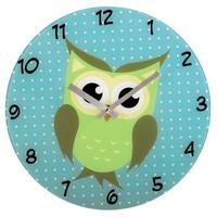 HAMA WALL CLOCK 'OWL' Sienas pulkstenis