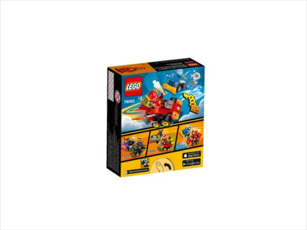 LEGO Mighty Micros:The Flash vs. V29  76063 LEGO konstruktors