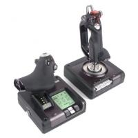 Logitech G Saitek  Pro Flight X52 Joystick spēļu konsoles gampad