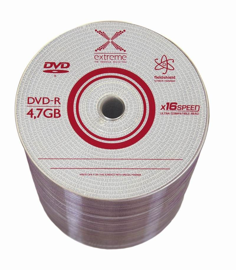 DVD-R Extreme [ spindle 100 | 4.7GB | 16x ] matricas