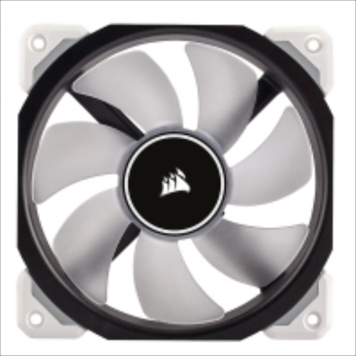 Corsair Air Series ML120 Magnetic Levitation Fan, LED white, 120mm dzesētājs, ventilators