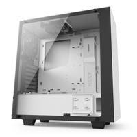 NZXT S340  Elite Side window, USB 3.0 x2, Mic x1, Spk x1, Matte White, Midle-Tower Datora korpuss