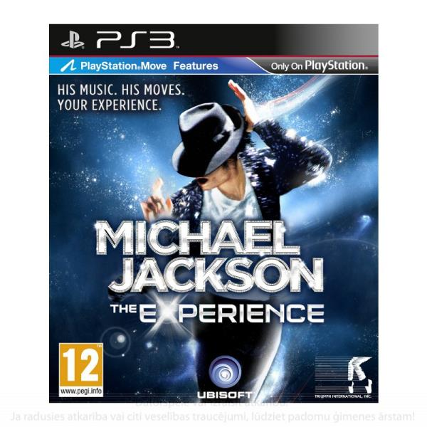 SONY PS3 Michael Jackson The Experience Move spēle