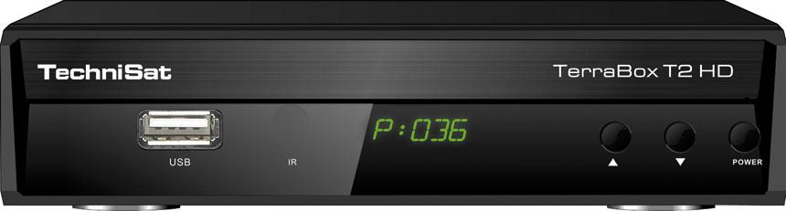 TechniSat Terrabox T2HD Receiver DVB-T/DVB-T2 uztvērējs