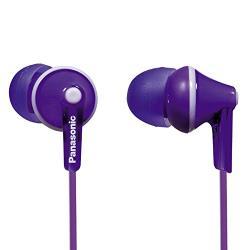 Panasonic RP-HJE125E-V Earphones, Violet austiņas