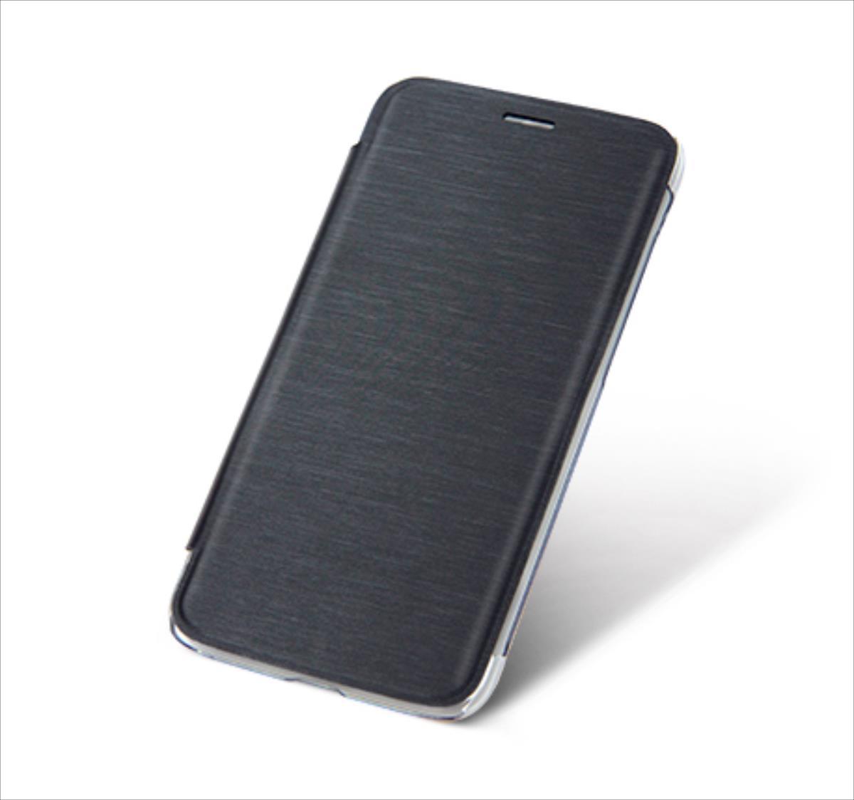 Just5 Freedom/Freedom X1 horizontal case black AKS_FREEDOMbook/bl2 maciņš, apvalks mobilajam telefonam