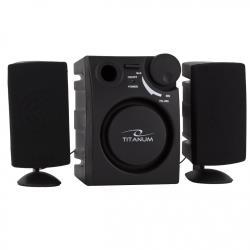 TITANUM Speakers 2.1 CANTO TP101 - 1W + 2 x 0.5W datoru skaļruņi
