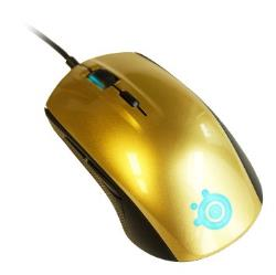 SteelSeries Rival 100 Optical Gaming Mouse, Alchemy Gold Datora pele