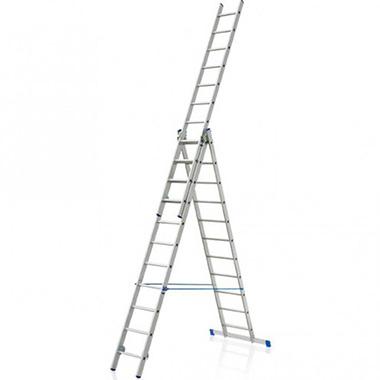 Besk Kāpnes alumīnija 3x 7 pakāpieni
